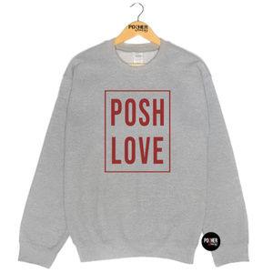 PosherSwag Tops - Posh Love Posher Sweatshirt